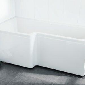 Svedbergs Suihkuamme 150×70/85 Vasen