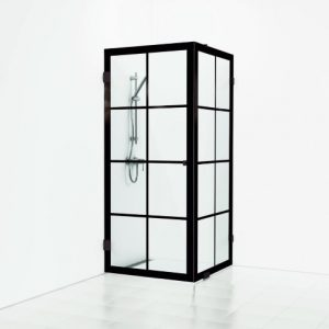 Svedbergs Ritual Suihkukulma 1 ovi & kiinteä lasi 80×80