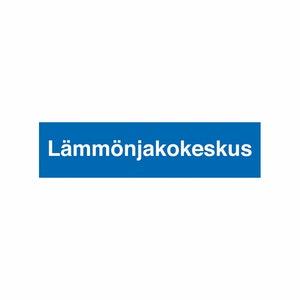 MERKINTÄTARRA LÄMMÖNJAKOKESKUS 400×100 TA