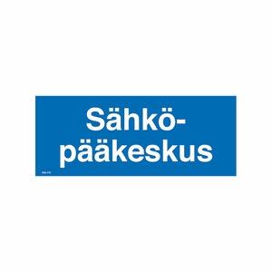 MERKINTÄTARRA SÄHKÖPÄÄKESKUS 100×40 TA