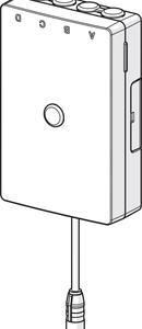 602195V OHJAUSYKSIKKÖ, 3 V