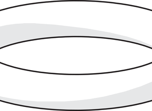 Oras 231901 KOLMITIEVENTTIILIN O-rengas, d 13.1×2.62